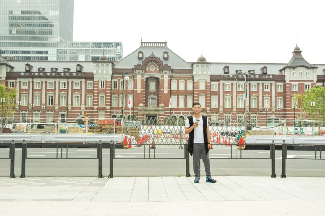 One of the busiest train stations in the world - Tokyo Station.