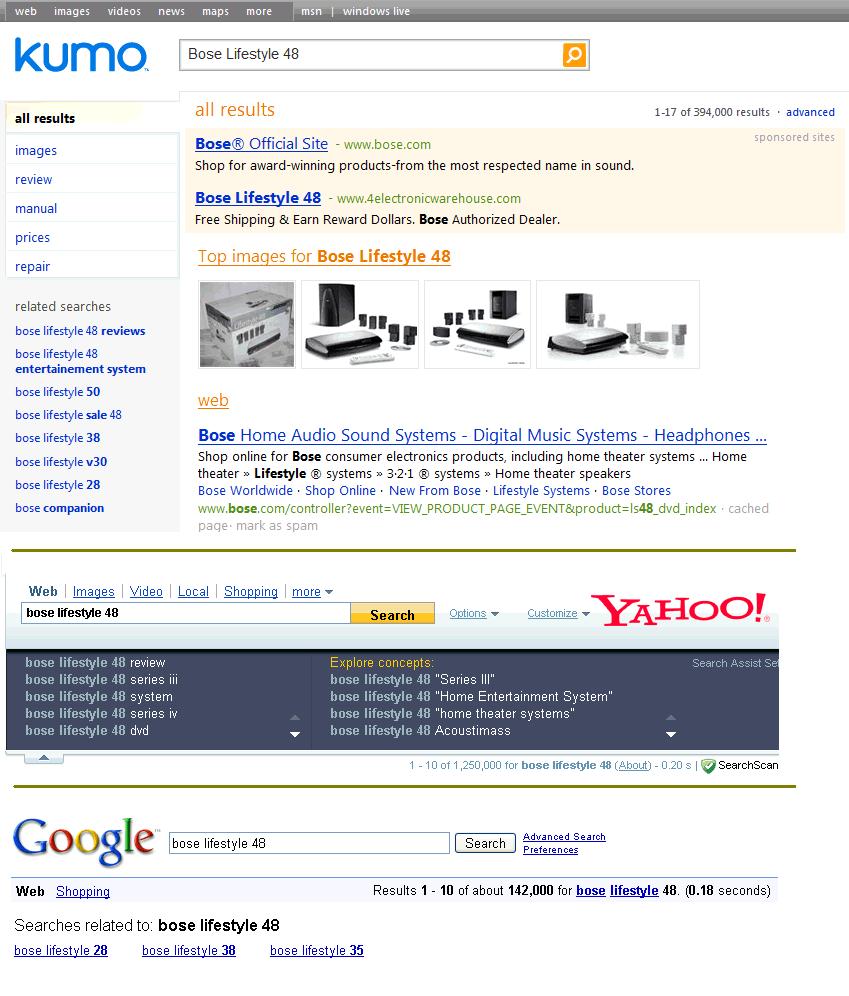 kumo-comparison