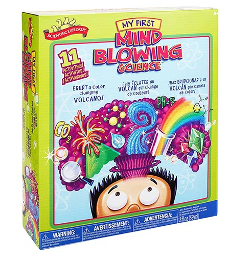 1. Scientific Explorer My First Mind Blowing Science Kit