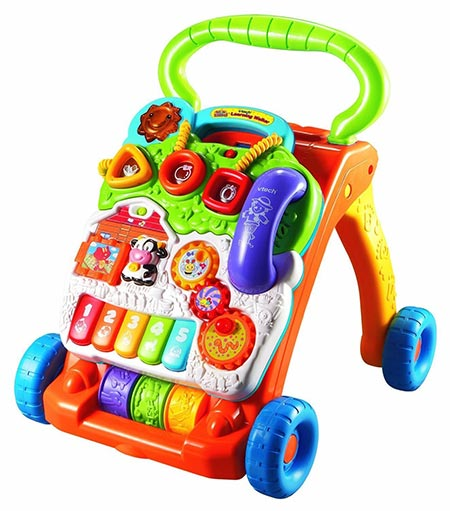 4. VTech Sit-to-Stand Learning Walker