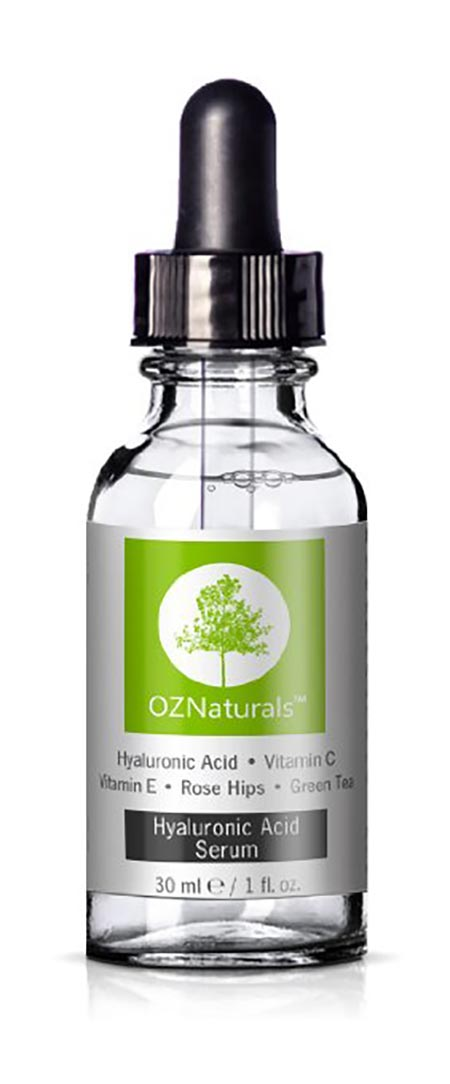 6. OZNaturals - Hyaluronic Acid Serum With Vitamin C