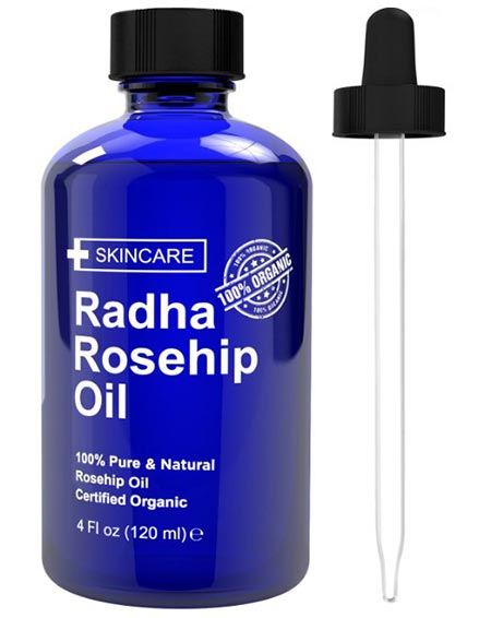 2. Rosehip Oil 4 oz - 100% Pure Cold