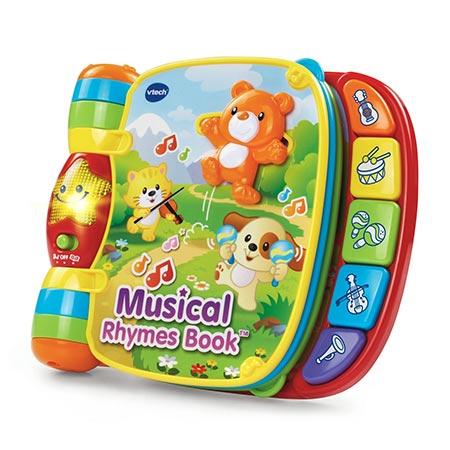 11. VTech Musical Rhymes Book