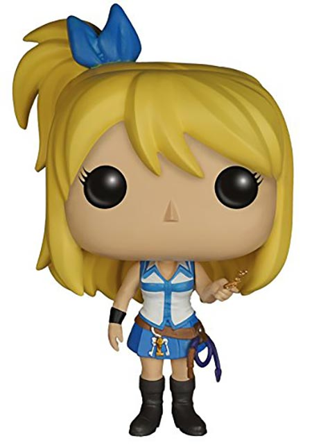 11. Funko POP Anime: Fairy Tail Lucy Action Figure
