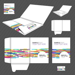 Folder design template