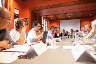 Peace negotiators of the GPH-NDFP in Oslo, Norway. Photo from NDFP