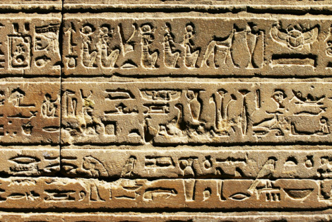 6 Ancient Egyptian Inventions we still use today - Hieroglyphics as an early system of writing