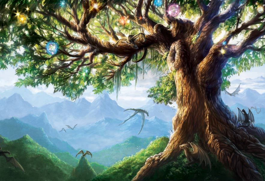 The Norse Legend of the World Tree – Yggdrasil