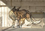 Murals of Animals and Insects on the Streets of Antwerp by 'Dzia'