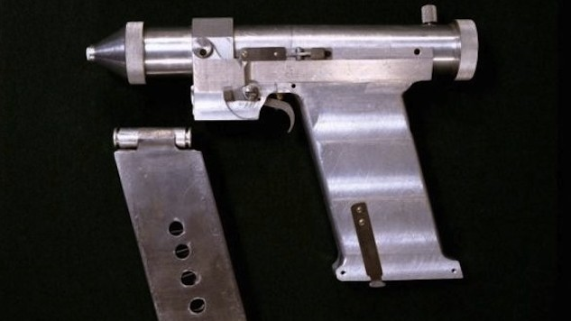 Russia: Exclusive footage of top-secret space laser pistol!