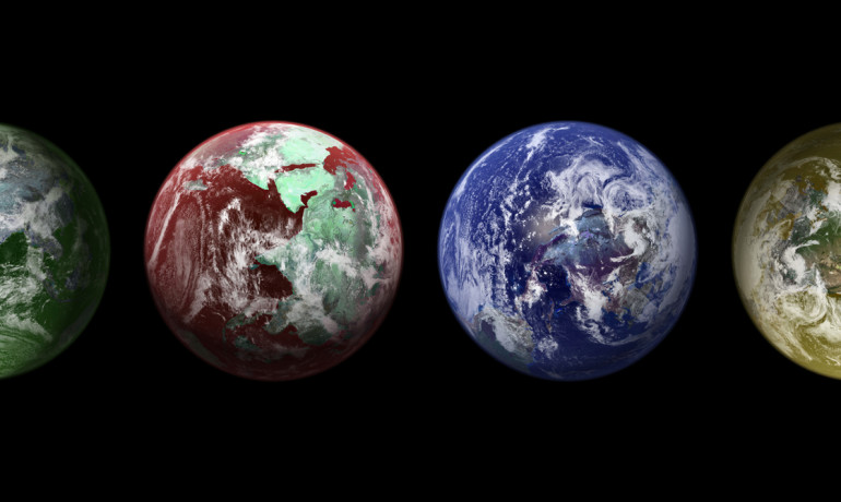 Color key to aid search for life on exoplanets