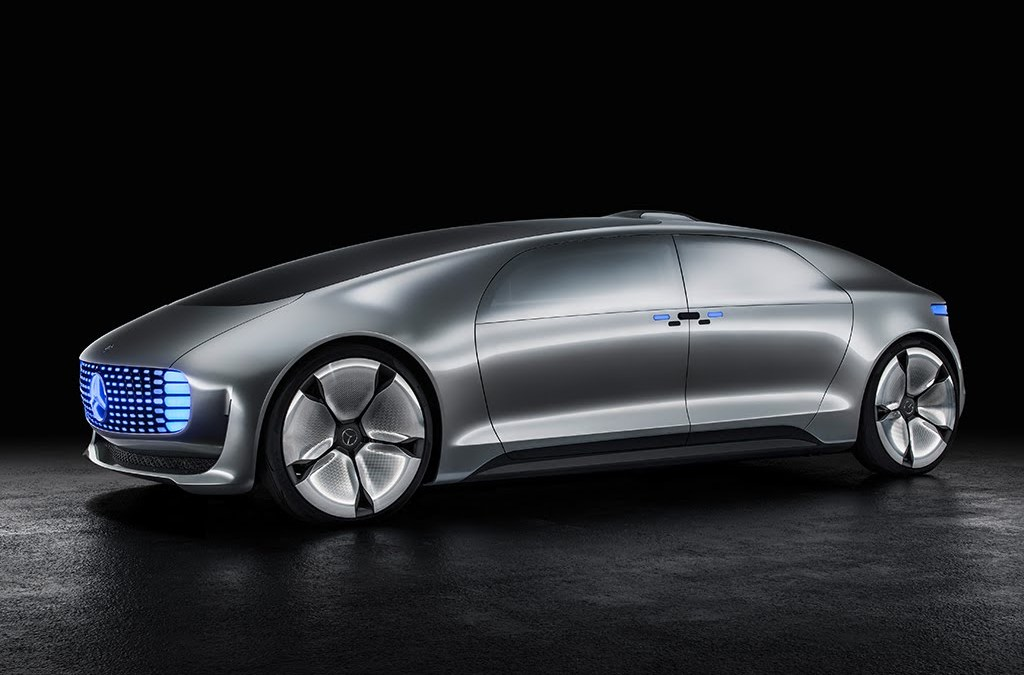 The New Self-Driving Car From Mercedes-Benz