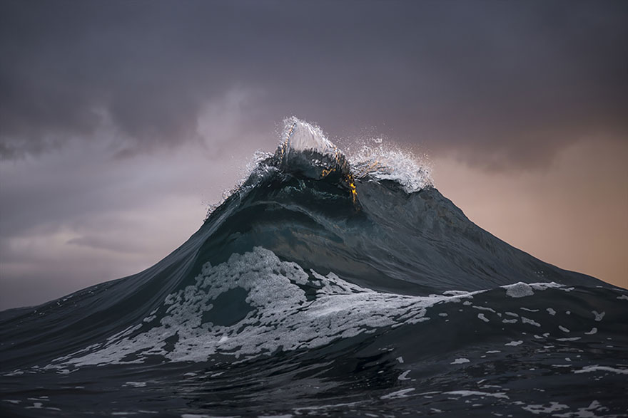 Mountains Of The Sea: Photographer 'Freezes' Waves To Make Them Look Like Mountains
