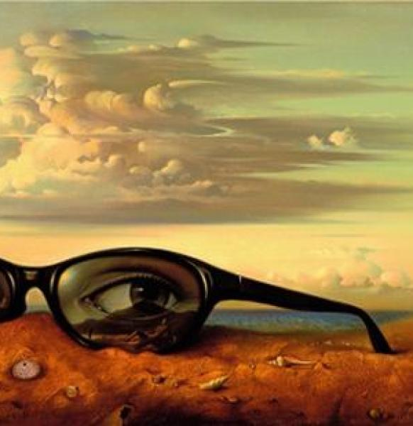 Crazy Awesome Paintings – forgotten_sunglasses600_309
