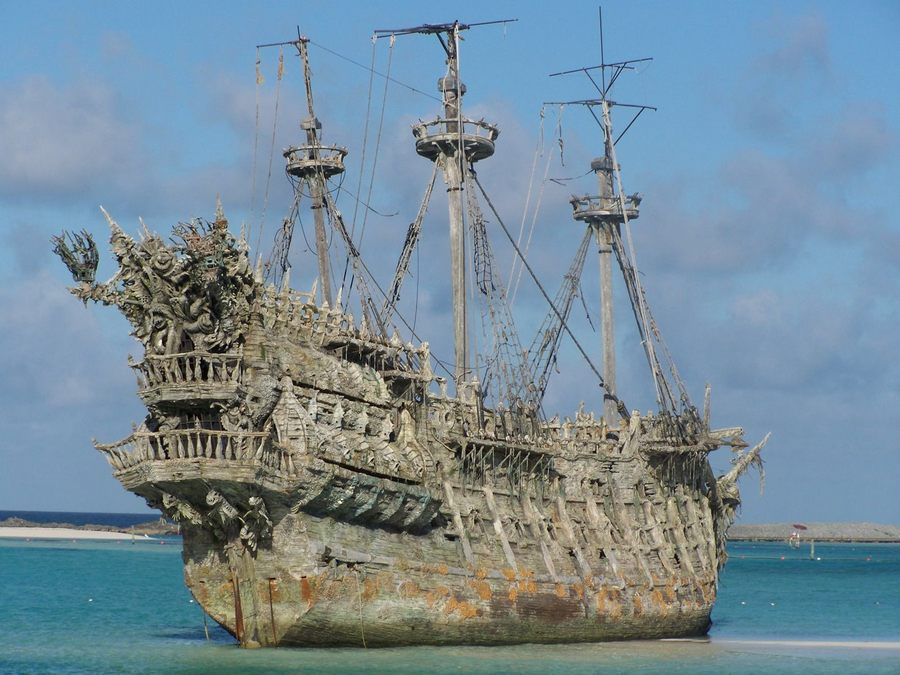 The Real Flying Dutchman Ship