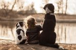 Polish Photographer Mom Takes Adorable Photos Of Her Son And Their Adopted Dogs