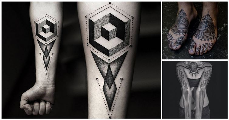 20 Stunningly Intricate Geometric Tattoos