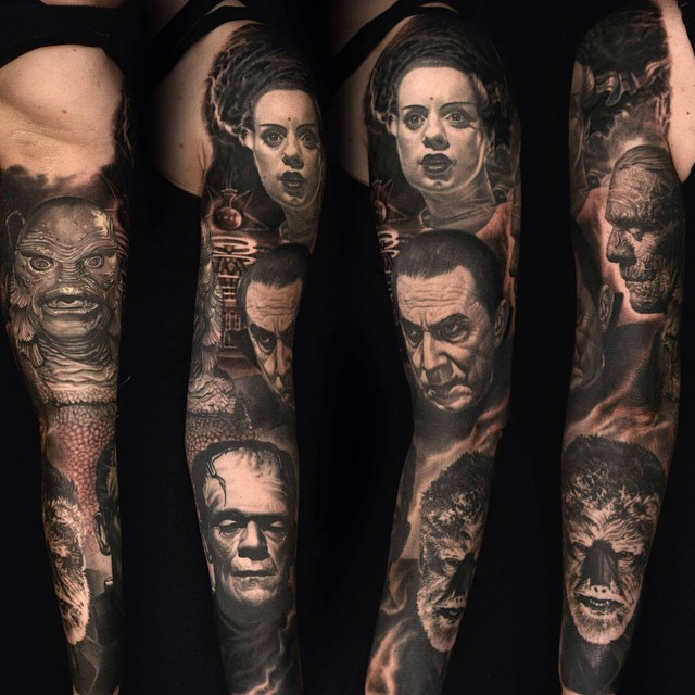 The Tattoo Art Of Nikko Hurtado