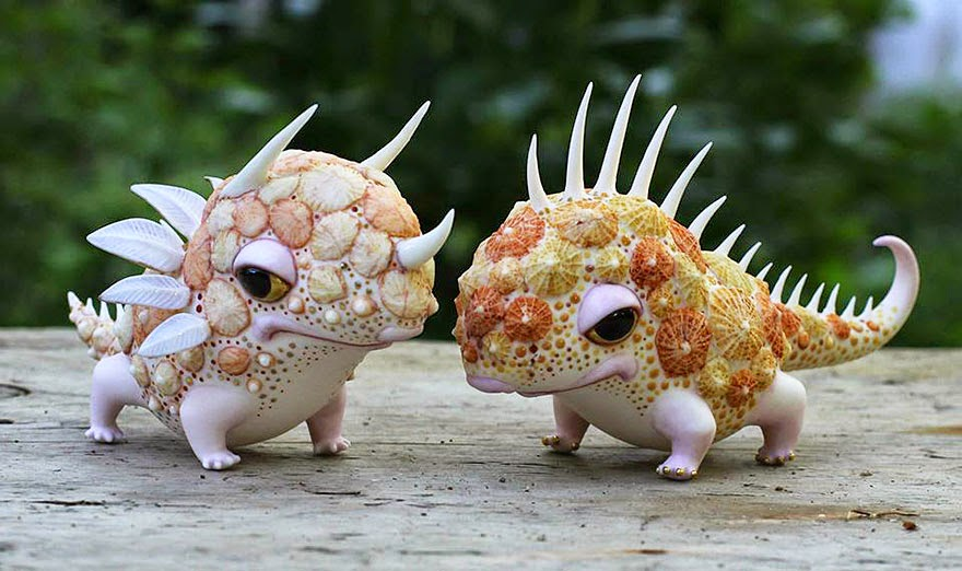 Ukrainian Artist Duo Creates Beautiful Fairytale Porcelain Creatures