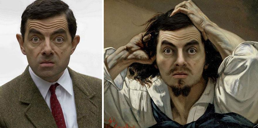 Celebrities Photoshopped Into Famous Paintings – by Bénédicte Lacroix