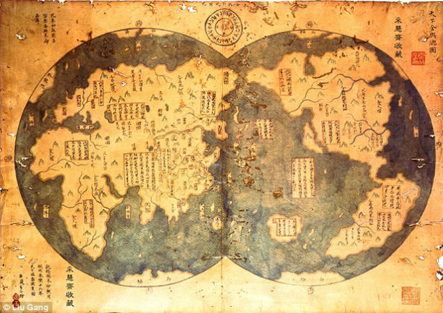 China Discovered America Long Before Columbus
