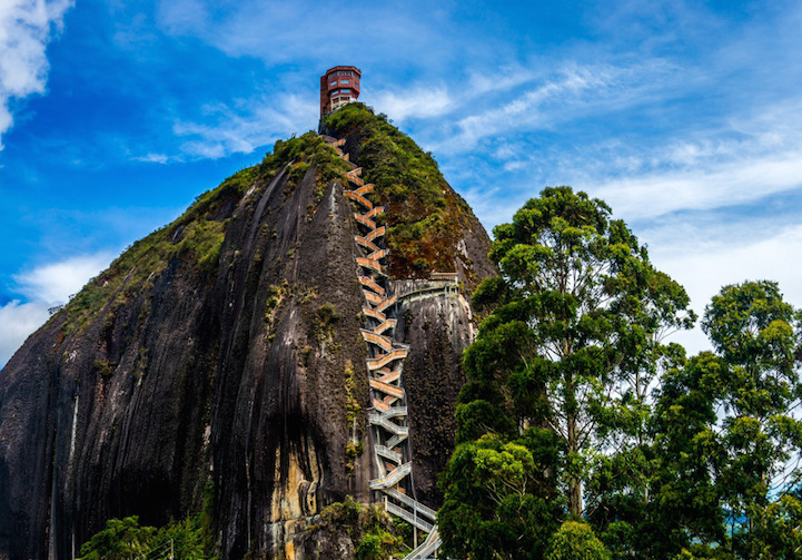 Climb 659 Steps Up This Historic Columbian Landmark for Majestic Countryside Views