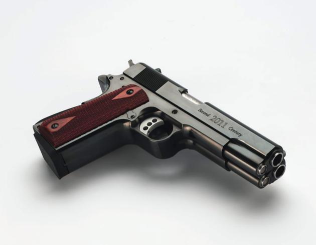 The Double Barrel Pistol