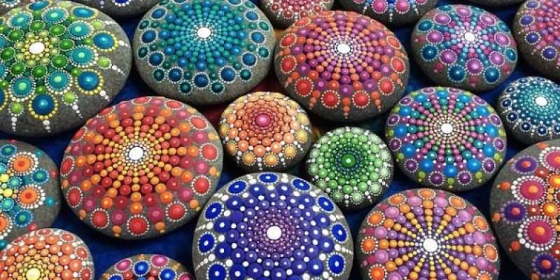 Stone Art Mandala – Elspeth Mclean Canada 14