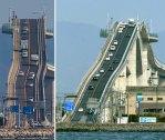 """Eshima Ohashi Bridge - The Terrifying Crazy Japanese """"Rollercoaster"""" Bridge"""