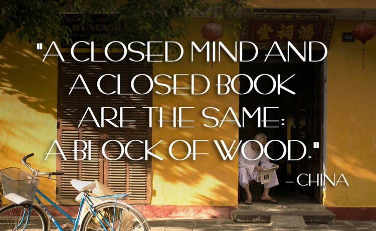 21 Beautiful And Inspirational Proverbs From Around The World - Closed - China