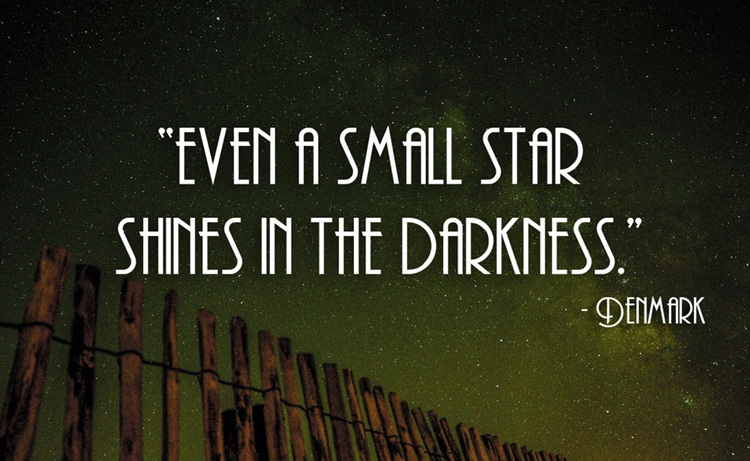 21 Beautiful And Inspirational Proverbs From Around The World - Star - Denmark