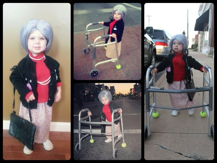 Most Adorable Toddlers Dressed up as Oldies 1