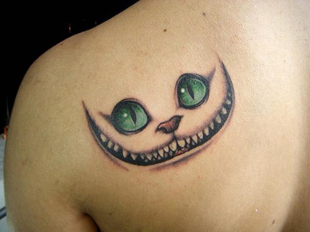 Book-Inspired Tattoos - Alice's Adventures In Wonderland Tattoo