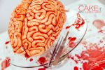 How To Make A Red Velvet Brain Cake For Halloween With Yolanda Gampp