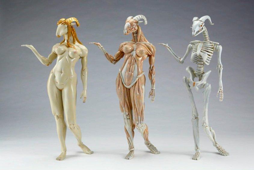 Alien Anatomy Sculptures