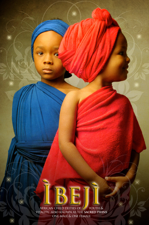 Remarkable Images of African Orisha Deities - Ibeji 2