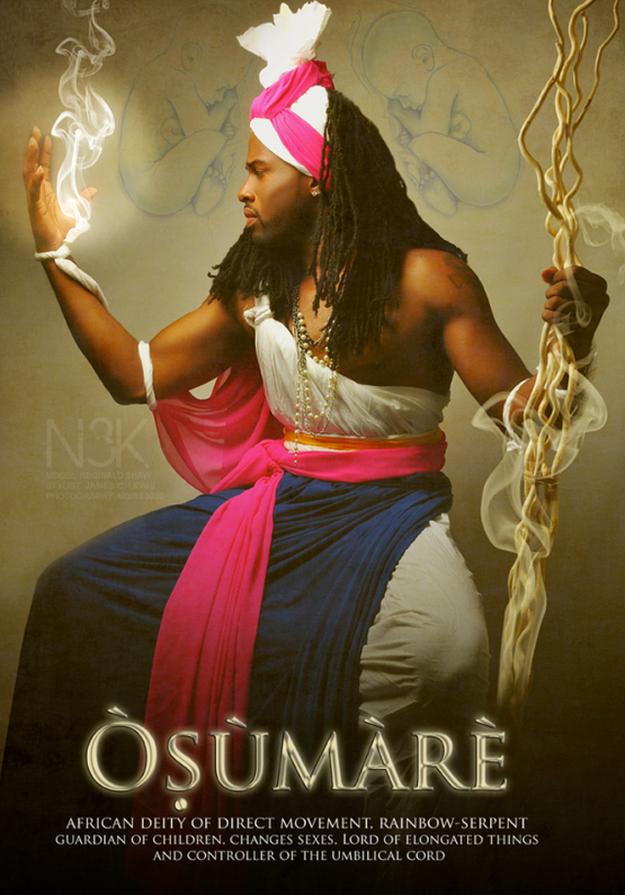 Remarkable Images of African Orisha Deities - Osumare