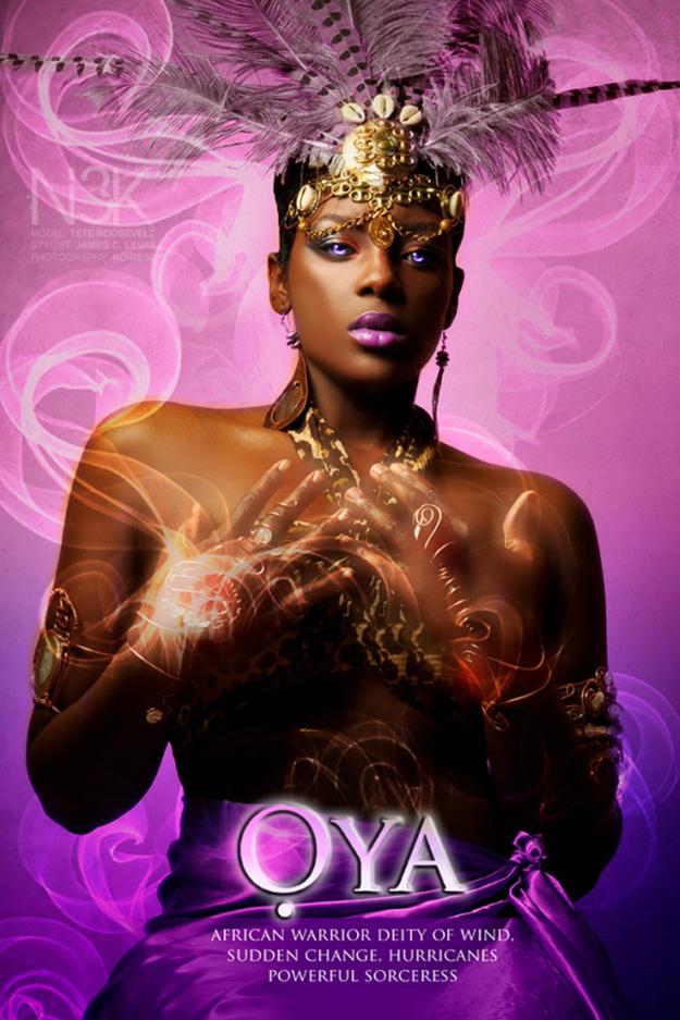 Remarkable Images of African Orisha Deities - Oya