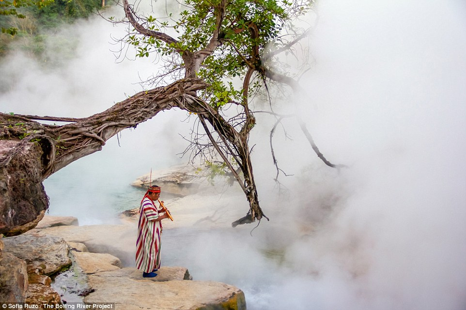 Mayantuyacu -The Boiling River in Peru