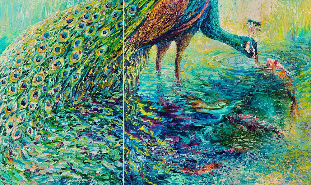Oil Finger Paintings by Iris Scott 6