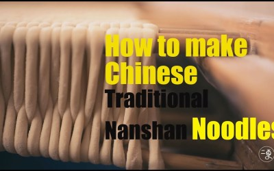 The Process of Making These Rare Traditional Noodles Is Fascinating