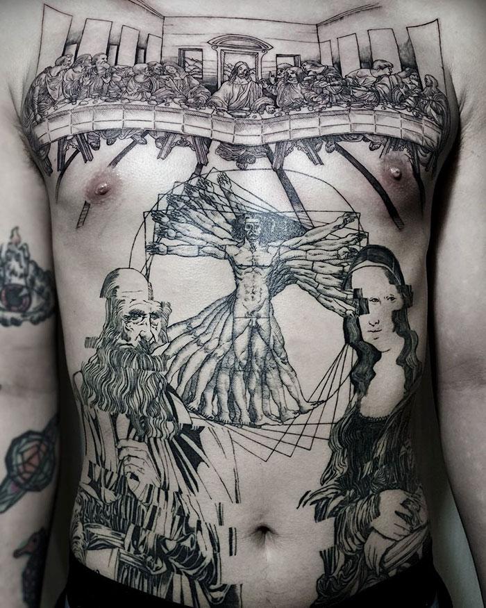 leonardo-da-vinci-tattoo