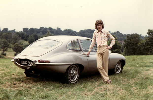 Rock Stars Cars - 24. Alan Whitehead – Jaguar E-Type