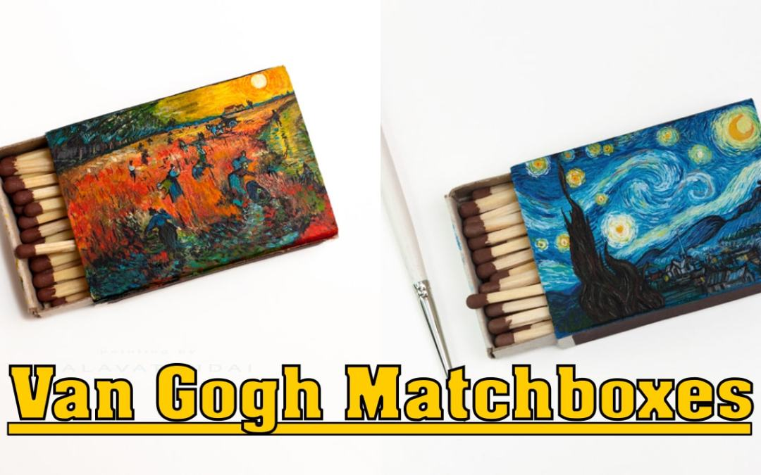 Van Gogh Matchboxes