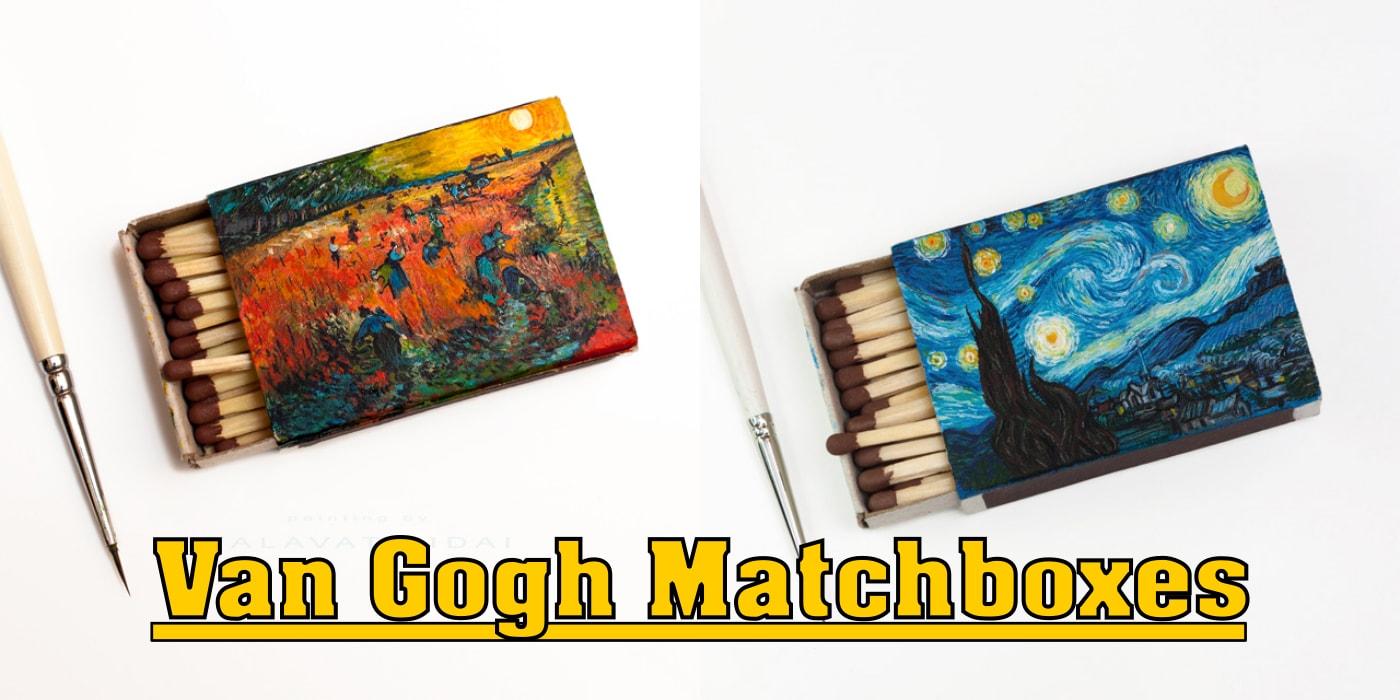 Van Gogh Matchboxes