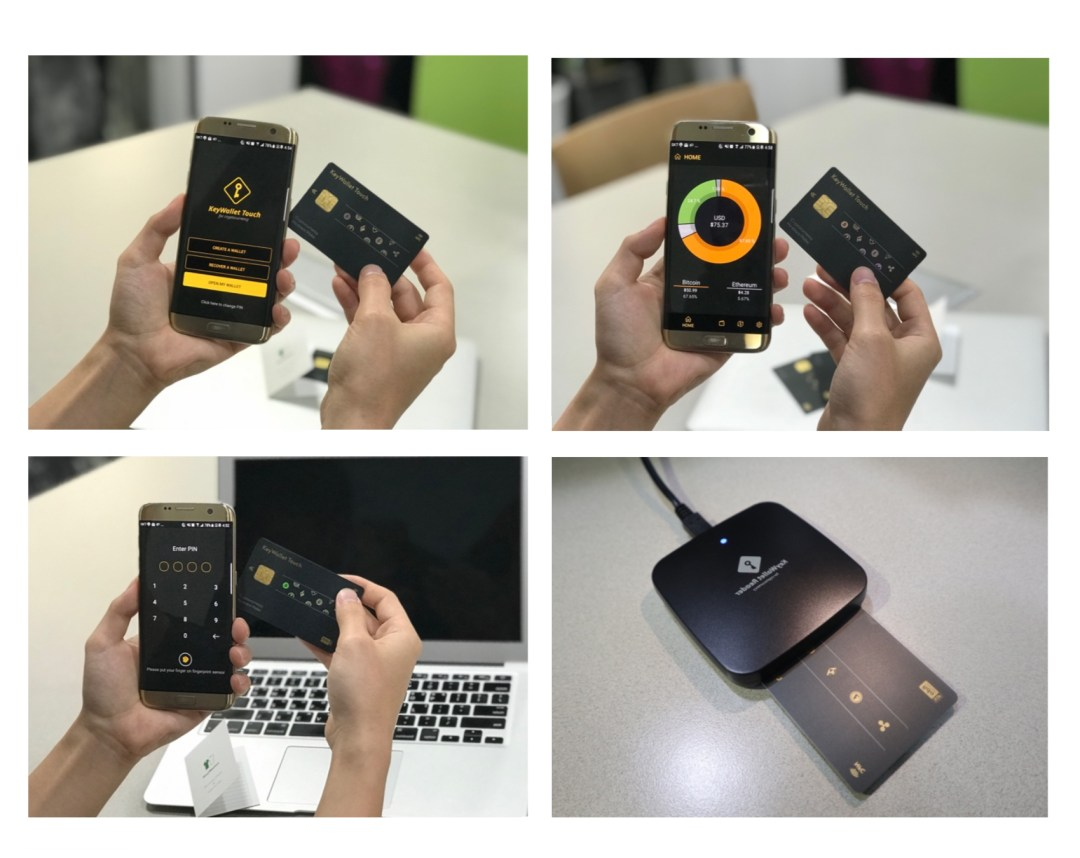Korean Firm Keypair Launches Credit Card Shaped NFC Hardware Wallet