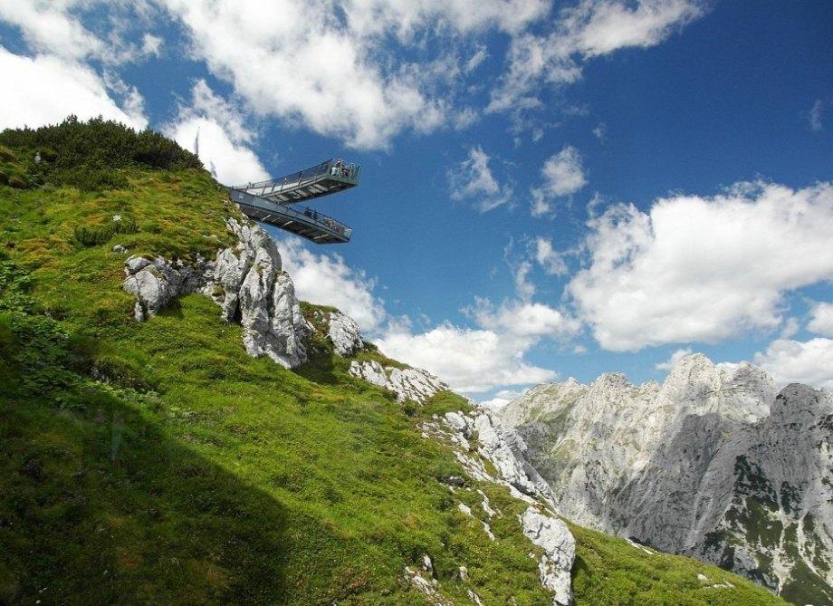 Alpspix Viewing Platform in Germany
