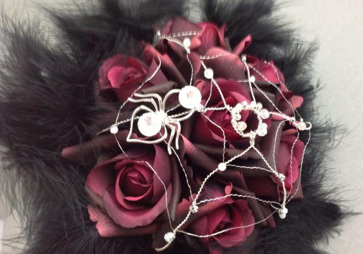 Gothic Wedding Flowers
