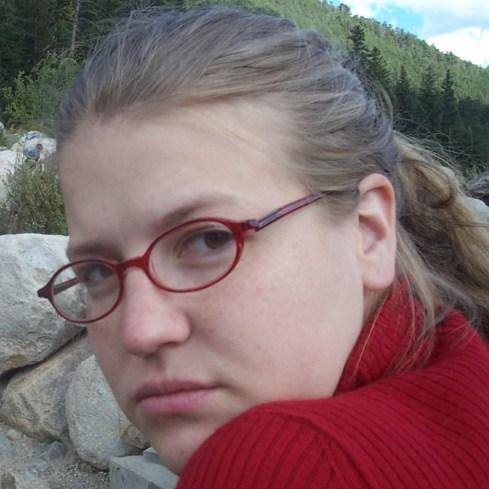Kristi in Estes Park, 2002