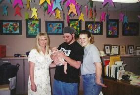 Mom, Kristi, Ian and I